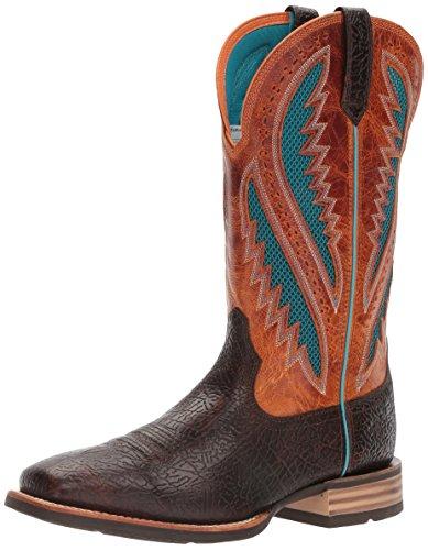 Ariat Men's Quickdraw Venttek Western Cowboy Boot, Glazed Bark, 8 D US