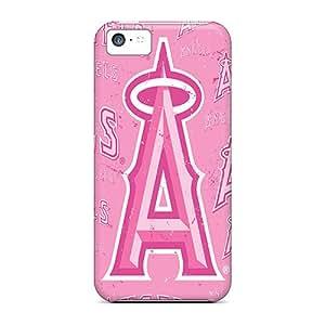ALeonards DvY3262jmEK Protective Case For Iphone 5c(los Angeles Angels)