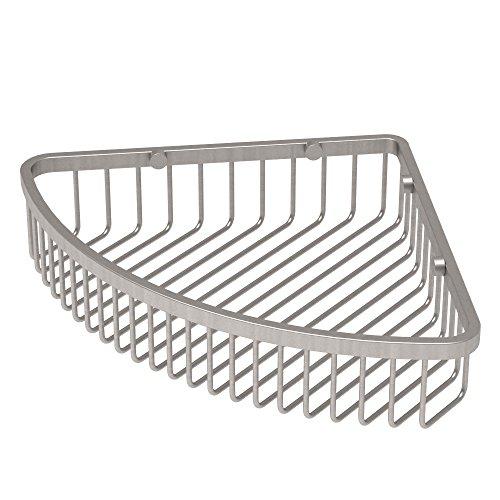 durable service Gatco 1571 Corner Soap Basket, Satin Nickel