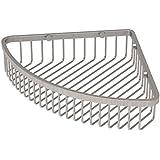 Gatco 1571 Corner Soap Basket, Satin Nickel