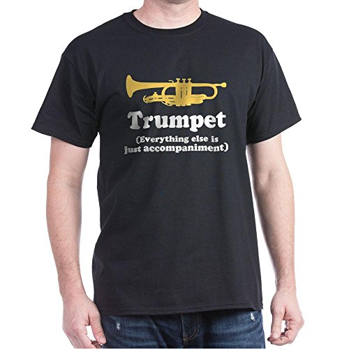 CafePress - Trumpet Gift (Funny) - 100% Cotton - T-shirt Band Gift Personalized