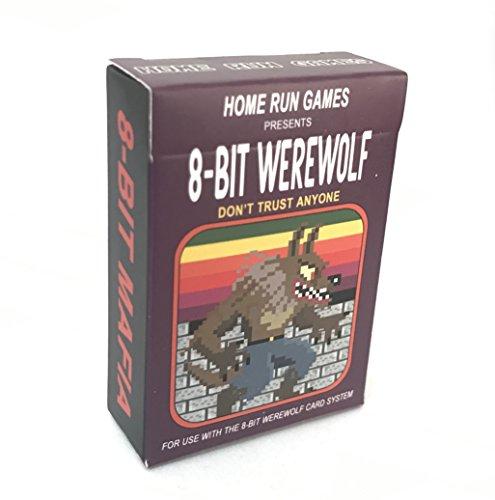 Home Run Games 8-Bit Mini Werewolf and Mafia by Home Run Games