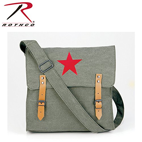 Rothco Canvas Classic Bag/Red