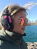 Walkers Game Ear Razor Slim Electronic Muff, Pink
