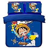 One Piece Bedding Sets - Sport Do Polyester Home Textiles Best Gifts for Japanese Anime Fans Queen 4PC