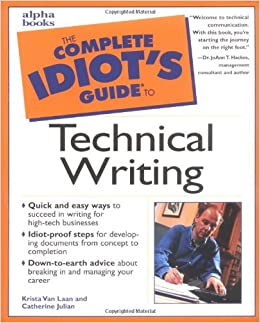 Book The Complete Idiot's Guide to Technical Writing