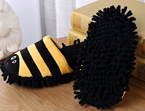 Adult Bee Novelty Shoes Sole House Scuff Slippers Soft Cleaning Cartoon OzO1rx
