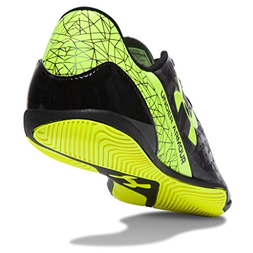Amazon.com | Under Armour Mens Soccer Speedform Flash Indoor, Size 8.5 Black/Yellow | Soccer