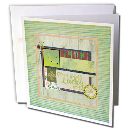with St. Patrick's Day Greeting Cards design