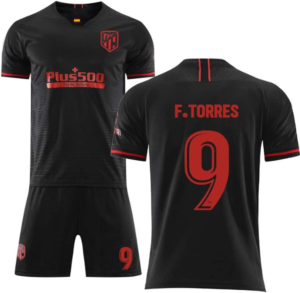 7 Griezmann Fu/ßballtrikotanzug HANJIAJKL Fu/ßball Trikot und Shorts f/ür Kids Erwachsene 2019//2020 Atletico Madrid Ausw/ärts Nr