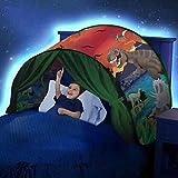 kids bed tents full size - DSSY Kids Dream Tent Pop Up Bed Tent Playhouse Magical Dream World Winter Wonderland Dinosaurs Unicorn Fantasy (Dinosaur)