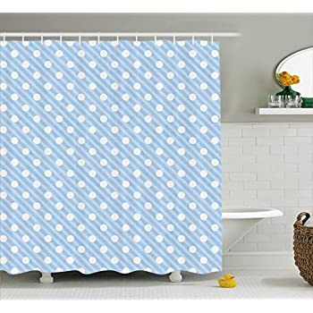 Amazon.com: Ambesonne Ombre Shower Curtain, Open Blue Sky