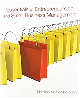Essentials of Entrepreneurship and Small Business Management, and Business Plan Pro, Entrepreneurship: Starting and Operating a Small Business Package (6th Edition) by Scarborough, Norman M. 6th edition (2010)