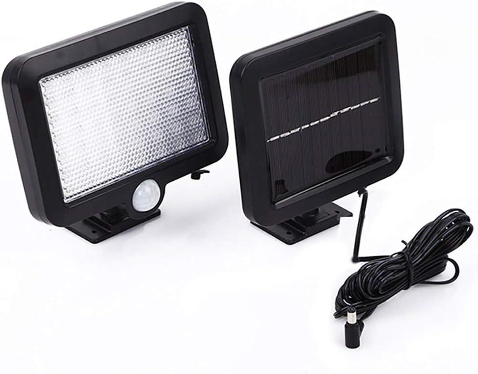 56 LED Solar Wall Light Waterproof PIR Motion Sensor Outdoor Security Lamp