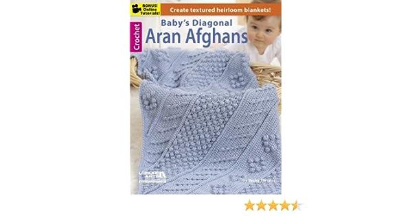 2e979d2c891c Baby s Diagonal Aran Afghans - Kindle edition by Becky Stevens ...