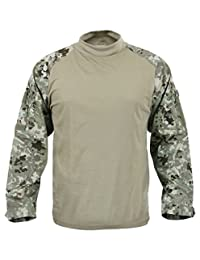 Rothco Military FR NYCO Combat Shirt, Total Terrain Camo, X-Large
