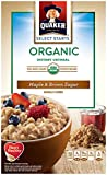 Quaker Instant Oatmeal, Maple Brown Sugar, 8 Packets Per Box (Pack of 4)