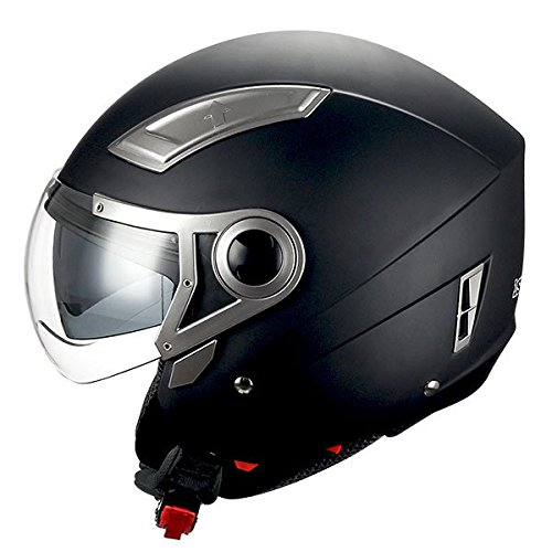 1STORM MOTORCYCLE OPEN FACE HELMET SCOOTER