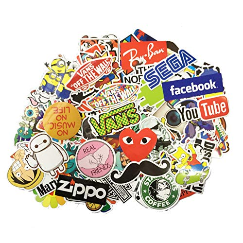 STICON Waterproof Stickers Skateboard Motorcycle product image