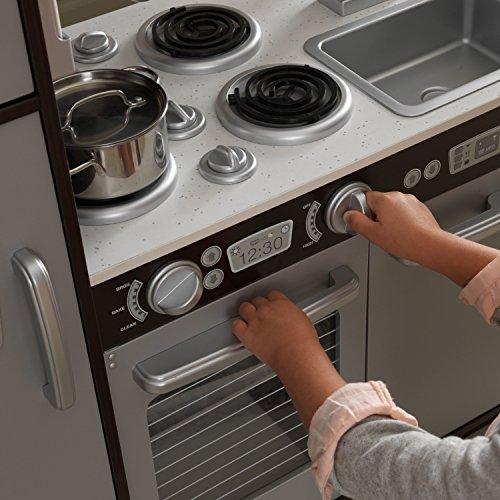 Pretend Play KidKraft Uptown Espresso Kitchen