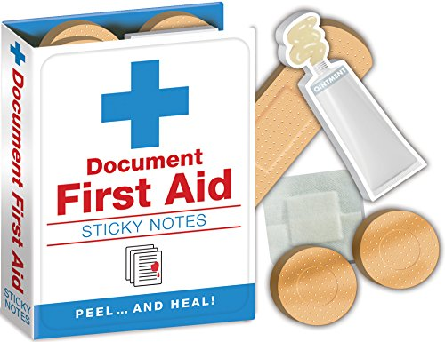 Notepad Booklet - First Aid Notes - Hospital Themed Sticky Notes Booklet