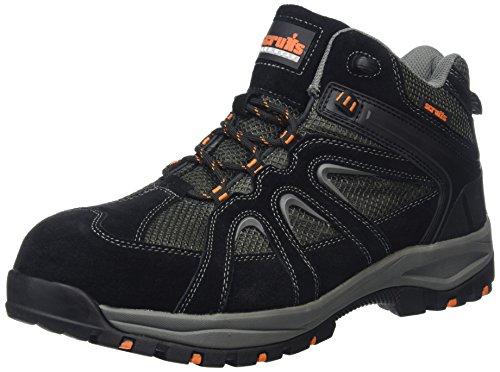Scruffs t53557Soar seguridad botas de montaña para hombre–Tamaño 10,5, color negro