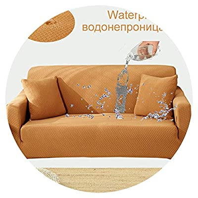 Waterproof and Oil Proof Anti-pet Sofa Cover Couch Covers Solid Color Stretch Furniture Stretch slipcovers sectional Home Decor