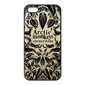 Danny Store 2015 New Arrival TPU Rubber Coated Phone Case Cover for iPhone 5 / 5S - Arctic Monkeys