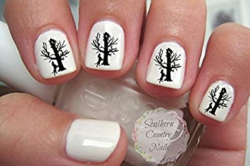 Amazon Treeing Coonhound Hound Dog Hunting Nail Art Decals