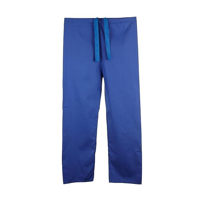 f68c7ab043163 Pantalón medico unisex reversible ultra cómodo con cordón en la cintura -  Colores-Frambuesa Azul Verde- Profesiones-Dentista Enfermera Veterinario   Medico  ...