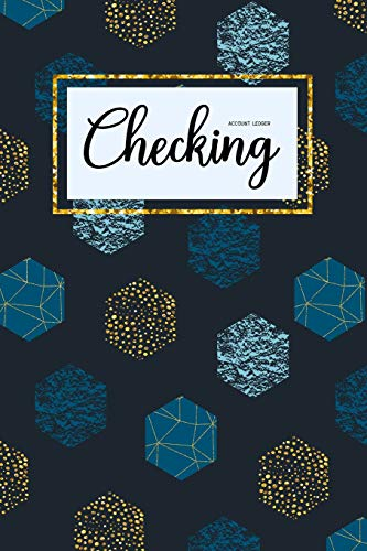 Checking Account Ledger: 6 Column Payment Record, Personal Checking Account Balance Register, Simple Accounting Book, Record and Tracker Log Book, ... Transaction Register (checking ledger book) por Cindy Tolgo
