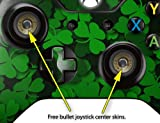 St Patricks Clover Confetti - Decal Style Skin fits Microsoft XBOX One Wireless Controller (CONTROLLER NOT INCLUDED)