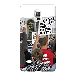 Scratch Resistant Hard Phone Cover For Sumsang Galaxy S4 Mini With Allow Personal Design Trendy Rise Against Pictures JamieBratt