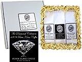100% Pure Kona Coffee Assortment Gift Sampler, Three Roasts...