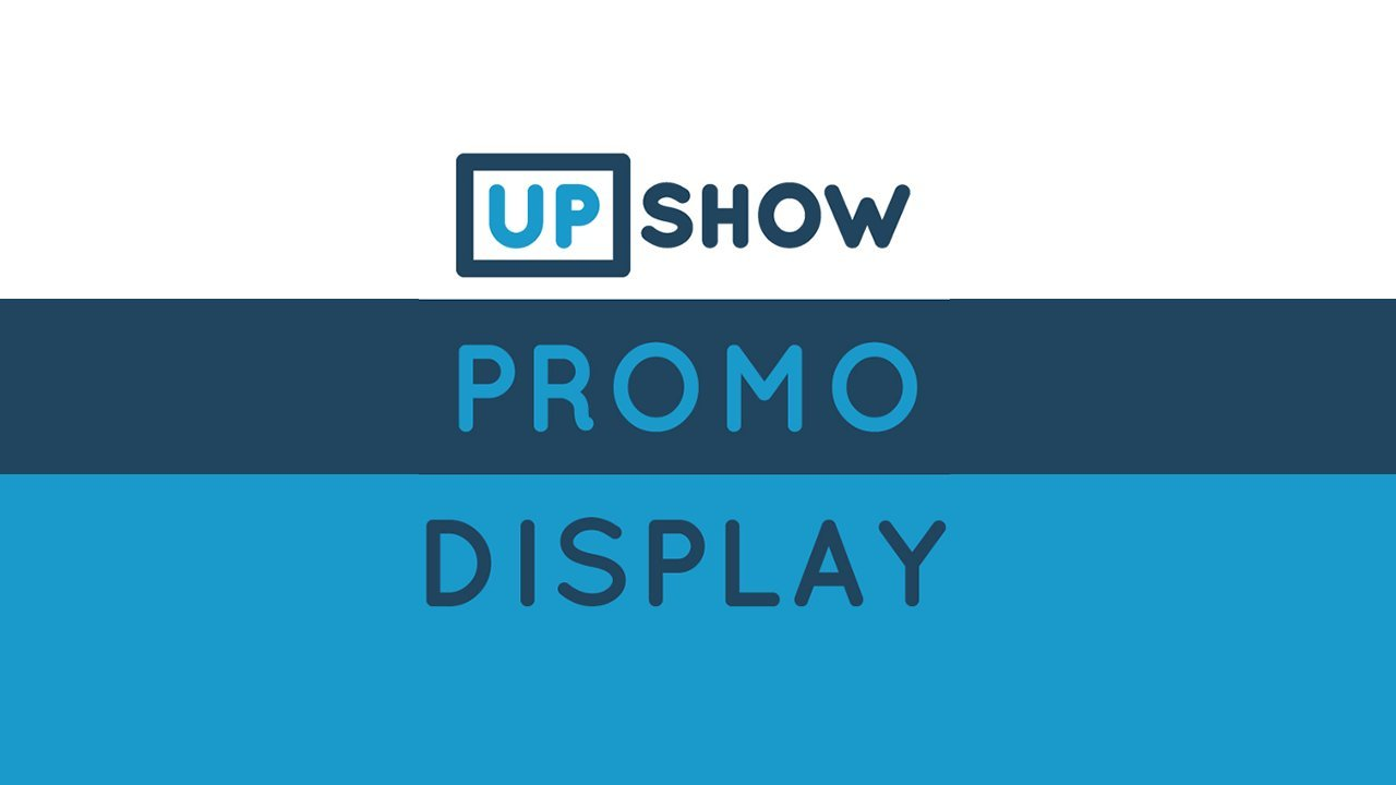 871d70fdf4a15 Promo Display by UPshow
