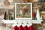 Cricut Decorative Window Cling, Christmas Sampler