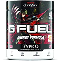 G Fuel Type O Tub (40 Servings) Elite Energy and Endurance Formula 9.8 oz. Inspired by Code Vein (Main Protagonist Label…