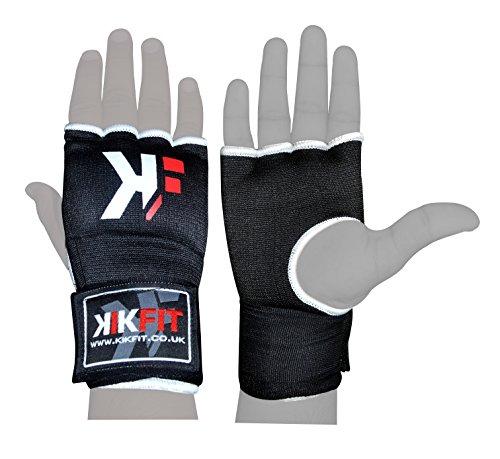 KIKFIT Gel Boxing Innenhandschuhe Hand Wrap, Grappling Handschuhe, Sandsack-Schutz Small / Medium