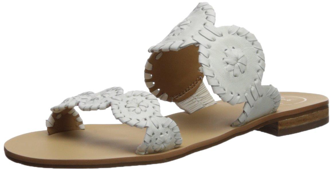 Jack Rogers Women's Lauren Dress Sandal B074XSV9XX 7 B(M) US|White/White