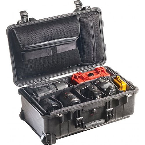 Price comparison product image Pelican 1510 Laptop Overnight Case With Padded Dividers (Black)