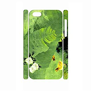 Eco-friendly Design Gardening Pattern Art Theme Drop Proof Case for Iphone 5c