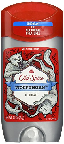 Old Spice Wild Collection Men's Deodorant, Wolfthorn Scent - 3.0 Oz