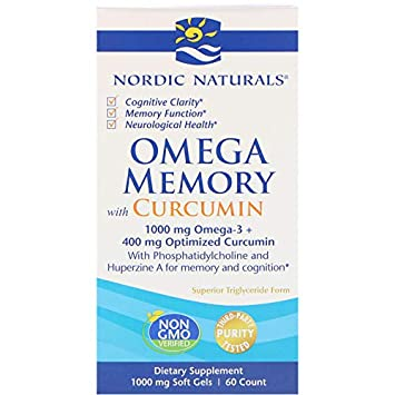 Nordic Naturals Omega Memory, 60 Count