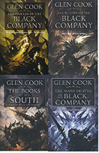 Complete Black Company (The Black Company, Shadows Linger, the White Rose, Shadow Games, Dreams of Steel, the Sliver Spike, Bleak Seasons, She Is the Darkness, Water Sleeps, Soldiers Live)