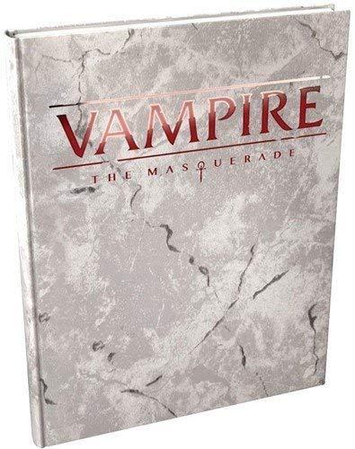 Vampire The Masquerade: 5th Edition Core Rulebook Deluxe Alternate Cover