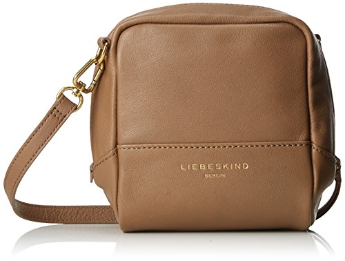 Liebeskind Berlin Acapulco Pgvint, Borse a tracolla Donna Marrone (New Mud)