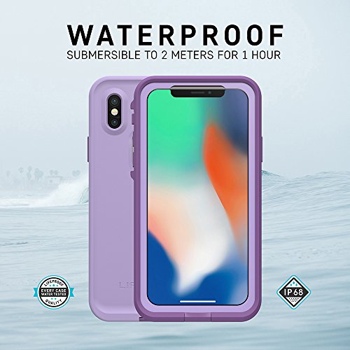 Lifeproof FRĒ SERIES Waterproof Case for iPhone X (ONLY) - Retail Packaging - NIGHT LITE (BLACK/LIME) by LifeProof (Image #5)
