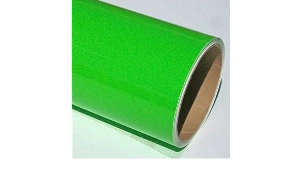 Rollo de vinilo autoadhesivo de color verde lima, 10 m x 61 cm: Amazon.es: Hogar