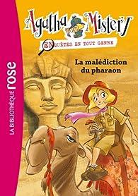 Agatha Mistery, tome 2 : La malédiction du pharaon par Sir Steve Stevenson