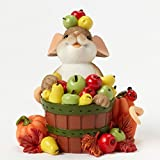 Enesco Charming Tails to Be Thankful for Figurine, 2.75-Inch
